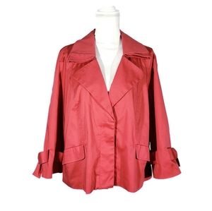 ELLE Red Bow Sleeve Jacket